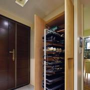 两室一厅进门玄关装修