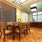 暖色调餐厅设计图片
