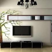 宜家风格电视墙背景