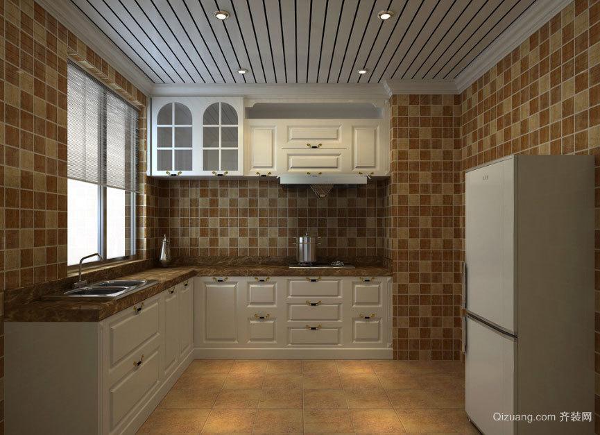 2015美不胜收的现代欧式厨房装修效果图大全