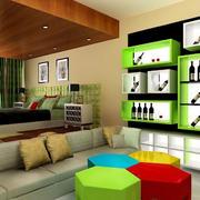 宜家风格酒柜设计图片