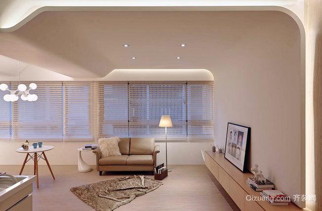 雅致的70平米公寓式住宅家居装修效果图