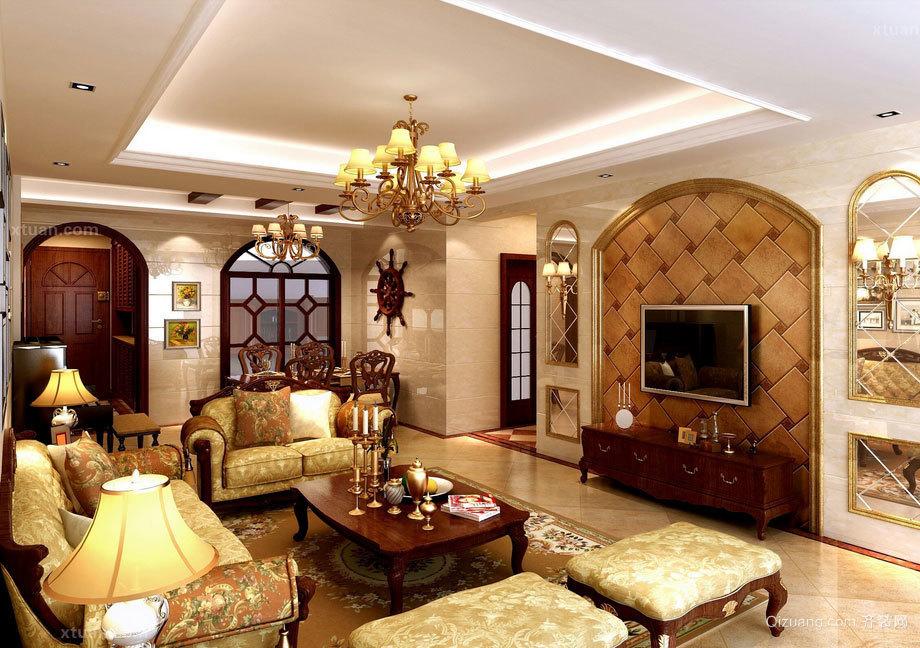 具有高贵气质的现代欧式客厅装修效果图鉴赏