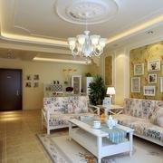 单身公寓客厅设计