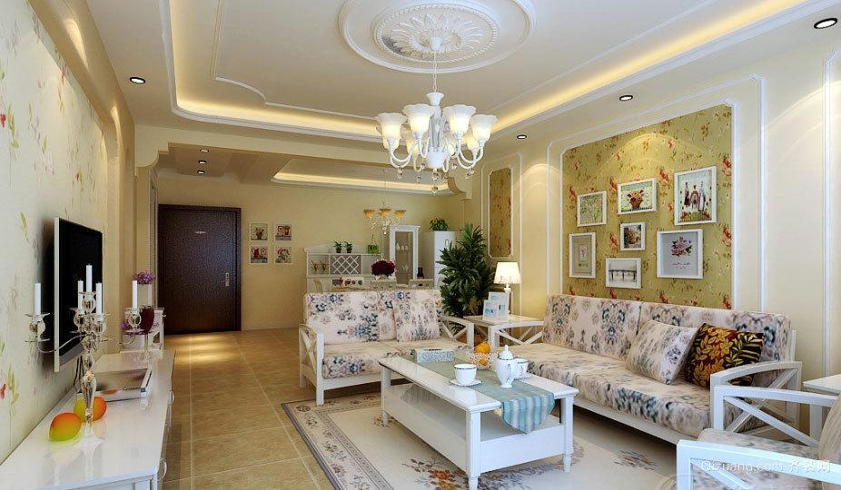 130平米诗意的城市生活小清新田园装饰公寓设计