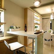 宜家风格厨房吧台装修