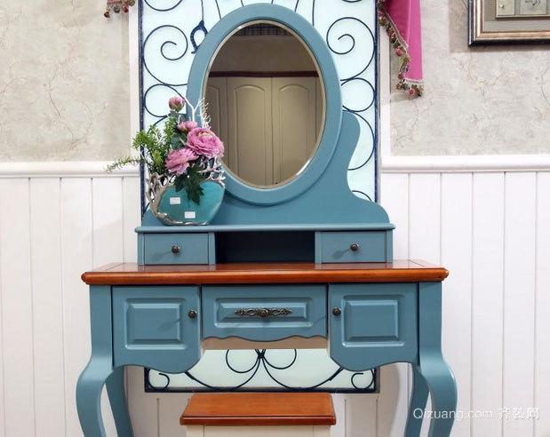轻松惬意的地中海风格卧室梳妆台装修效果图鉴赏