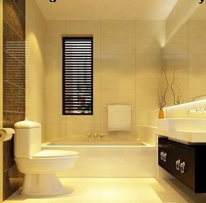 小户型浴室柜装修效果图