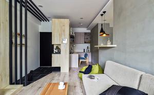 68平米老屋翻新 公寓式住宅家居装修效果图