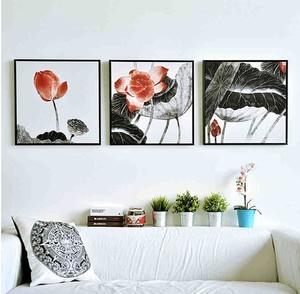 2015儒雅气质家居室内意境装饰画装修效果图