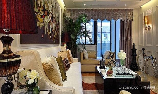 170平米奢华新古典风格别墅装修效果图
