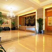 温馨系列酒店大厅装修