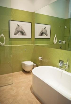 塑造文艺气质公寓卫生间墙面装饰装修效果图