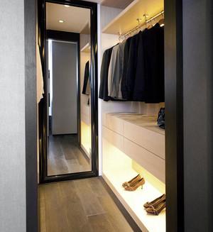100平米后现代风格完美三居室装修效果图