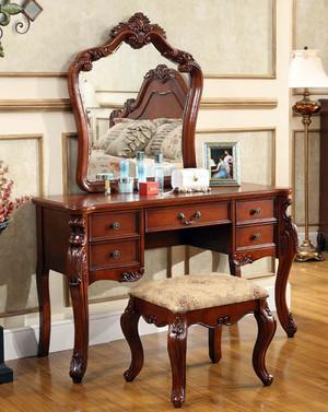 精致的美式卧室梳妆台装修效果图鉴赏