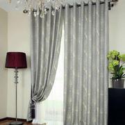 清淡型窗帘装修设计
