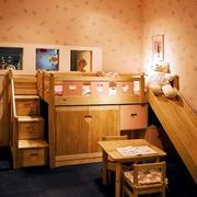 温馨系列儿童床效果图