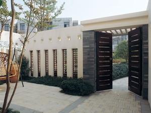 修生养性的中式别墅庭院装修设计效果图