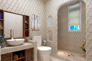 70平米地中海风格随心所欲单身公寓装修效果图