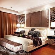 卧室地板装修图片