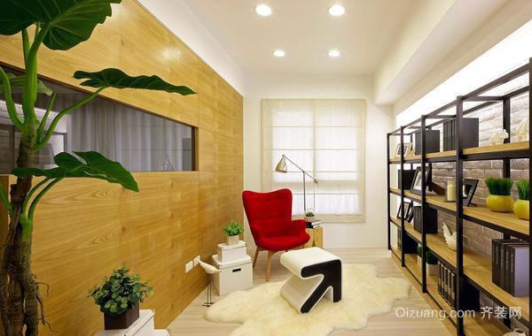 100㎡亲子式温馨公寓式住宅装修效果图