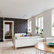 单身公寓地板砖设计