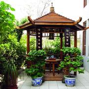 庭院防腐亭子设计