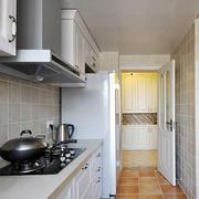 厨房走道装修图片
