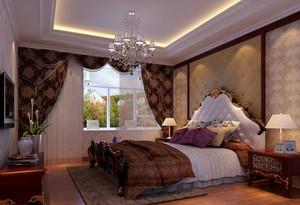 120平米大户型高等卧室软包背景墙装修效果图大全