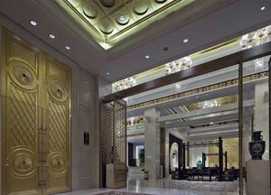酒店大厅吊顶图片