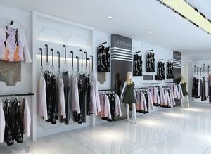 服装店地板砖效果图