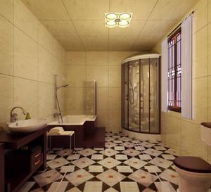 设计的妙趣横生的都市小卫生间装修效果图鉴赏