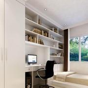 简洁系列书柜装修图片