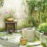 简约风格别墅庭院图片