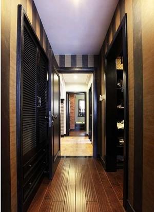 110平米复古雅居两室一厅室内装修设计效果图