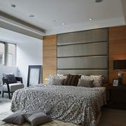 现代创意卧室背景墙