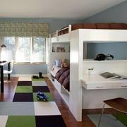 儿童房地板砖效果图