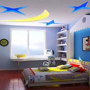 别墅儿童床效果图