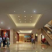 酒店大厅楼梯图片