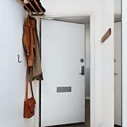 纯白色调单身公寓装修