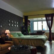 深色调房屋空间设计