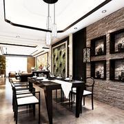传统型餐厅设计图片