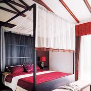 唯美型三室一厅卧室