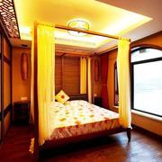 三室一厅卧室木地板
