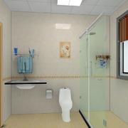 小卫生间玻璃隔断装修