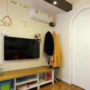 简洁系列电视墙背景