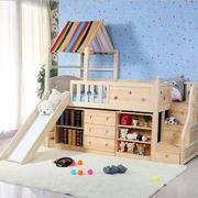 木质儿童床效果图