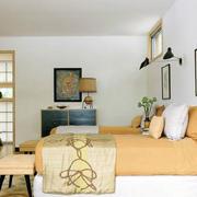 现代创意床头背景墙