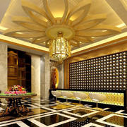 酒店大厅地板砖装修