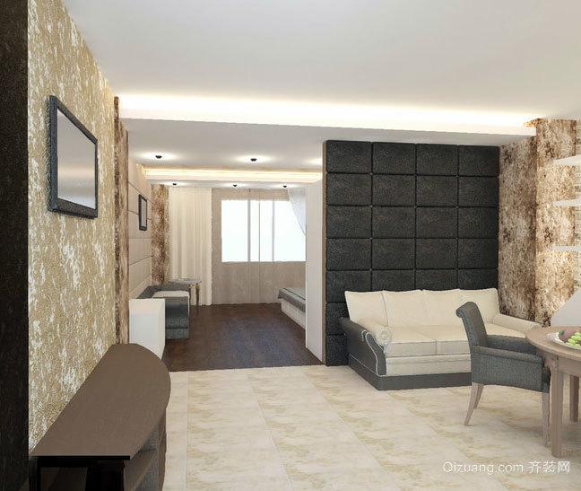 40平米时尚现代的公寓式住宅家居装修效果图鉴赏